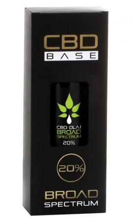 CBD BASE Kender Komplex CBD olaj 30 ml 20 %