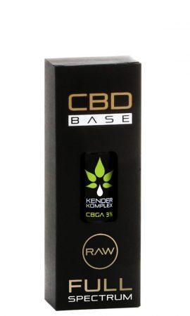 Hun Medical Cbd Base Kender Komplex - 3% - 10 Ml 300 mg CBGA olaj - CBD Base