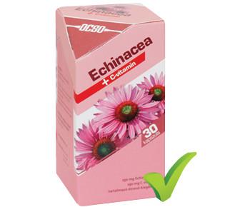 OCSO Echinacea + C-vitamin  30 kapszula