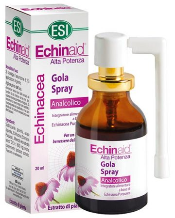 ESI Echinaid Alkoholmentes ECHINACEA torokspray 20ml