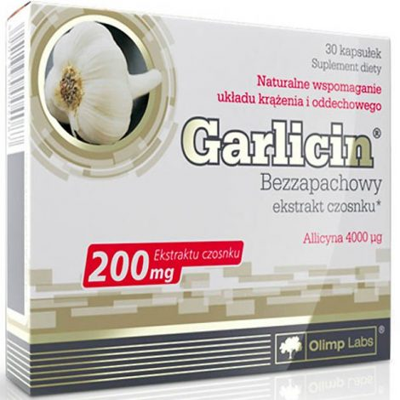 Olimp Sport Nutrition Garlicin® szagtalan fokhagyma koncentrátum - Erős antibakteriális és gombaölő hatás