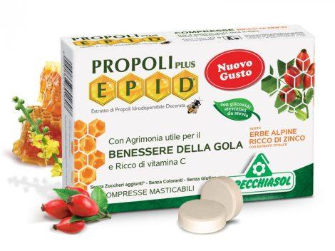 Specchiasol Propolisz szopogatós tabletta cinkkel dúsítva