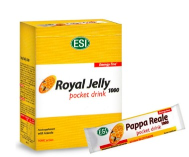 ESI Royal Jelly – 1000mg-os Méhpempő ivótasak