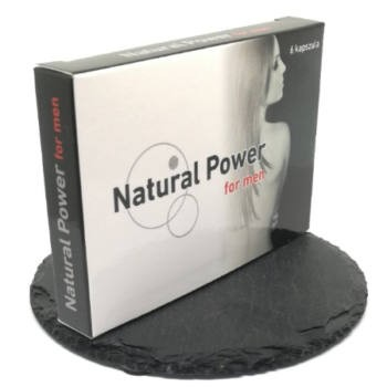 NATURAL POWER FOR MEN Potencianövelő kapszula 6 db