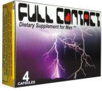 FULL CONTACT FOR MEN Potencianövelő kapszula 4 db