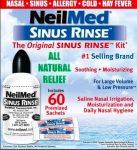 NeilMed Sinus Rinse 60 tasakos orrmosó szett (9 éven felülieknek)