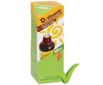 OCSO D-vitamin + C-vitamin belsőleges oldatos csepp