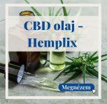 CBD olaj - Hemplix 100 % svájci
